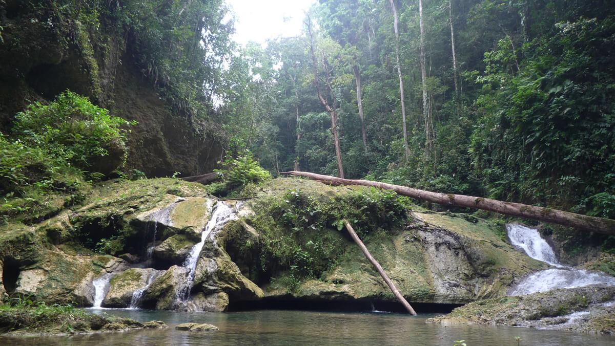 Mataniko Falls near Honiara