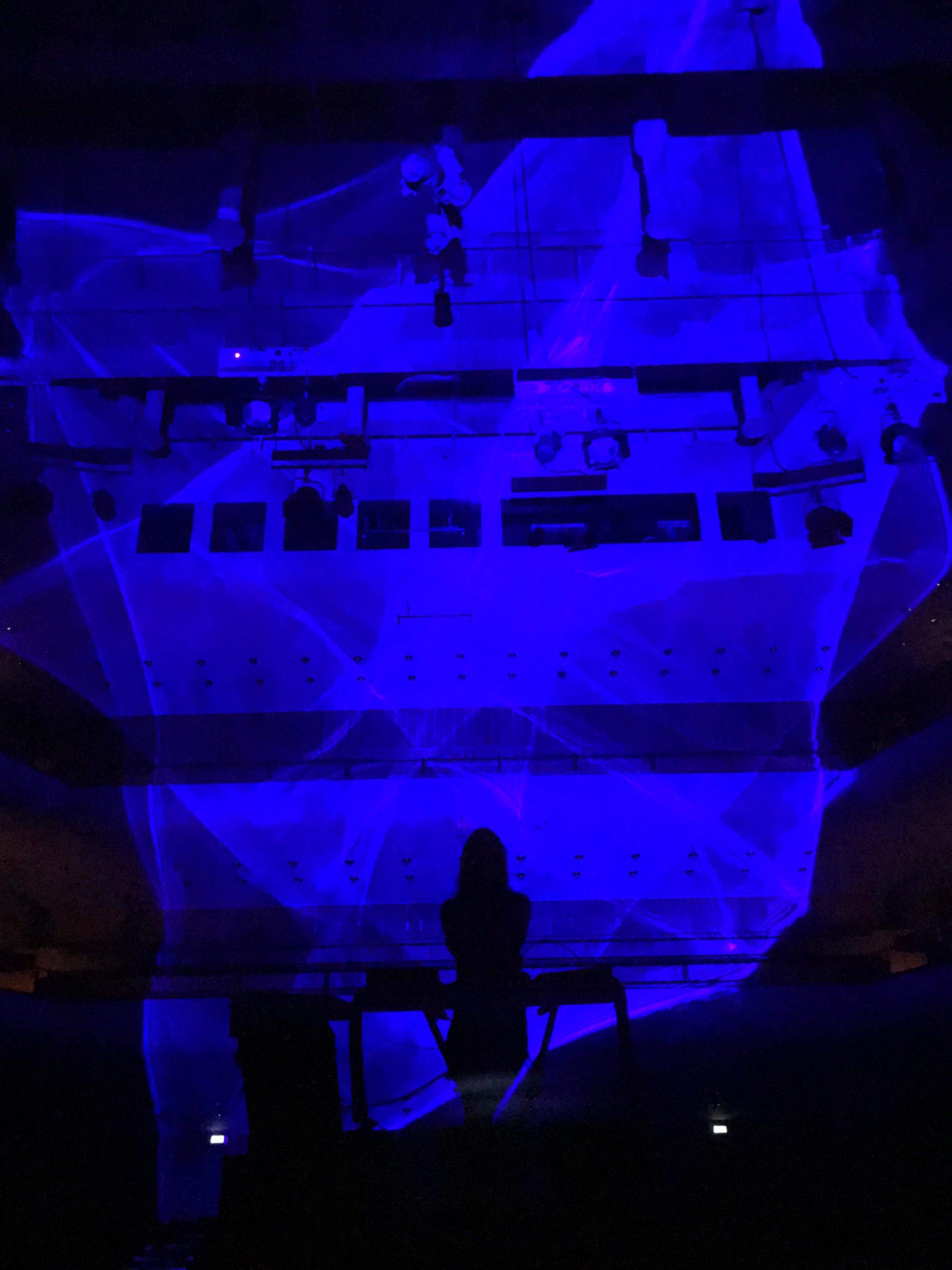Rehearsal in Berwaldhallen 1