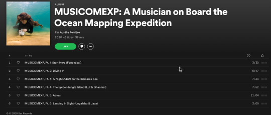 MUSICOMEXP out on Spotify, Deezer, Apple Music…