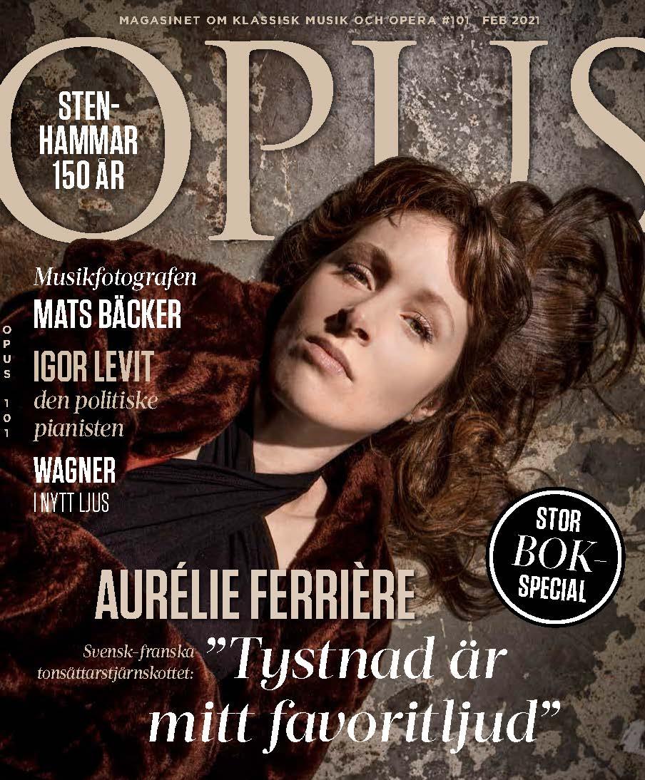 Aurélie Ferrière portrait Opus